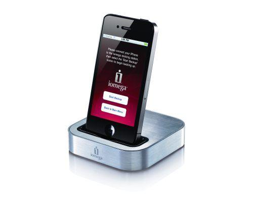 Iomega SuperHero z funkcją archiwizacji dla iPhone i iPod Touch