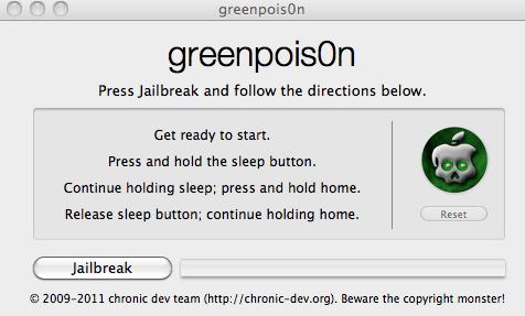 Jailbreak untethered iOS 4.2.1 od Chronic Dev już jest