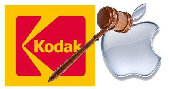 Spór patentowy między Kodakiem a Apple