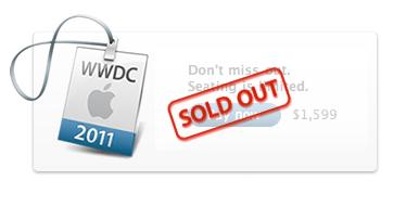 Bilety na WWDC 2011 już wyprzedane