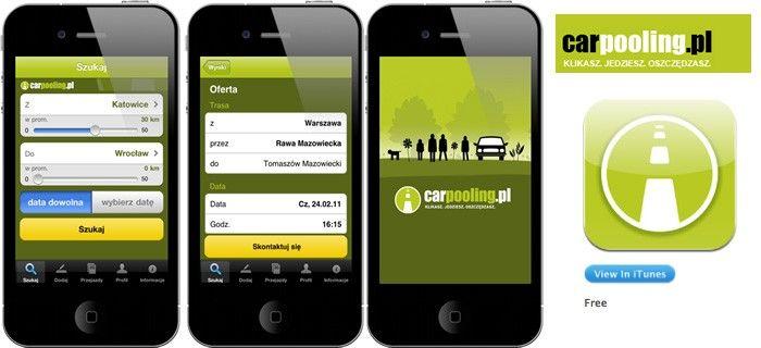 Mobilna pomoc dla autostopowiczów