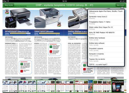 e-Kiosk na iPadzie