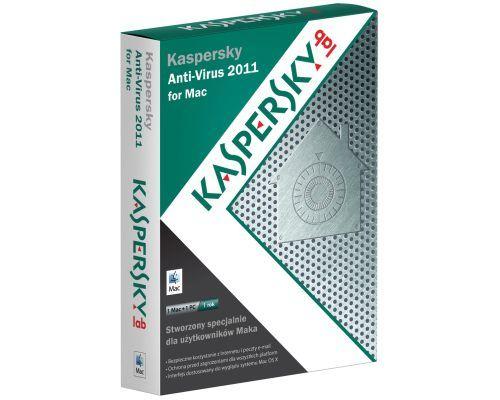 Kaspersky Anti-Virus 2011 for Mac na rynku