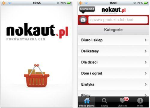 Zakupy z iPhonem w ręce- dzięki aplikacji Nokaut.pl