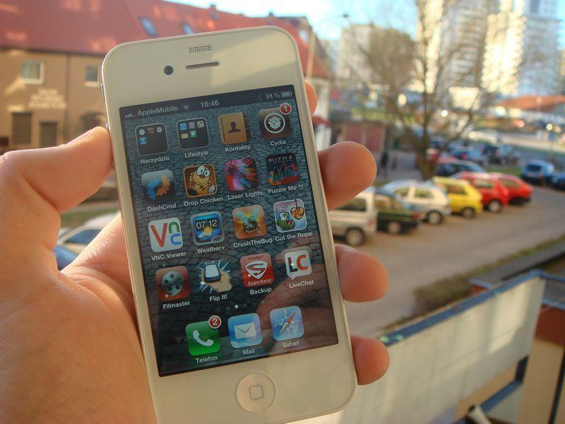 White POWER! Biały iPhone 4 w AppleMobile.pl