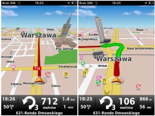 MapaMap dla iPhone