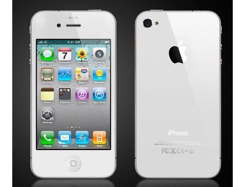 iPhone 4 w białej wersji od jutra w sprzedaży!
