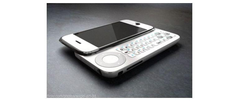 Czy dostaniemy iPhone'a z rozsuwaną klawiaturą ?