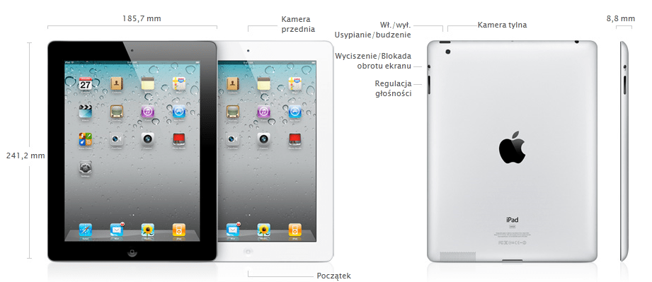 Recenzja: iPad 2 WiFi + 3G 64GB na krótki majowy weekend