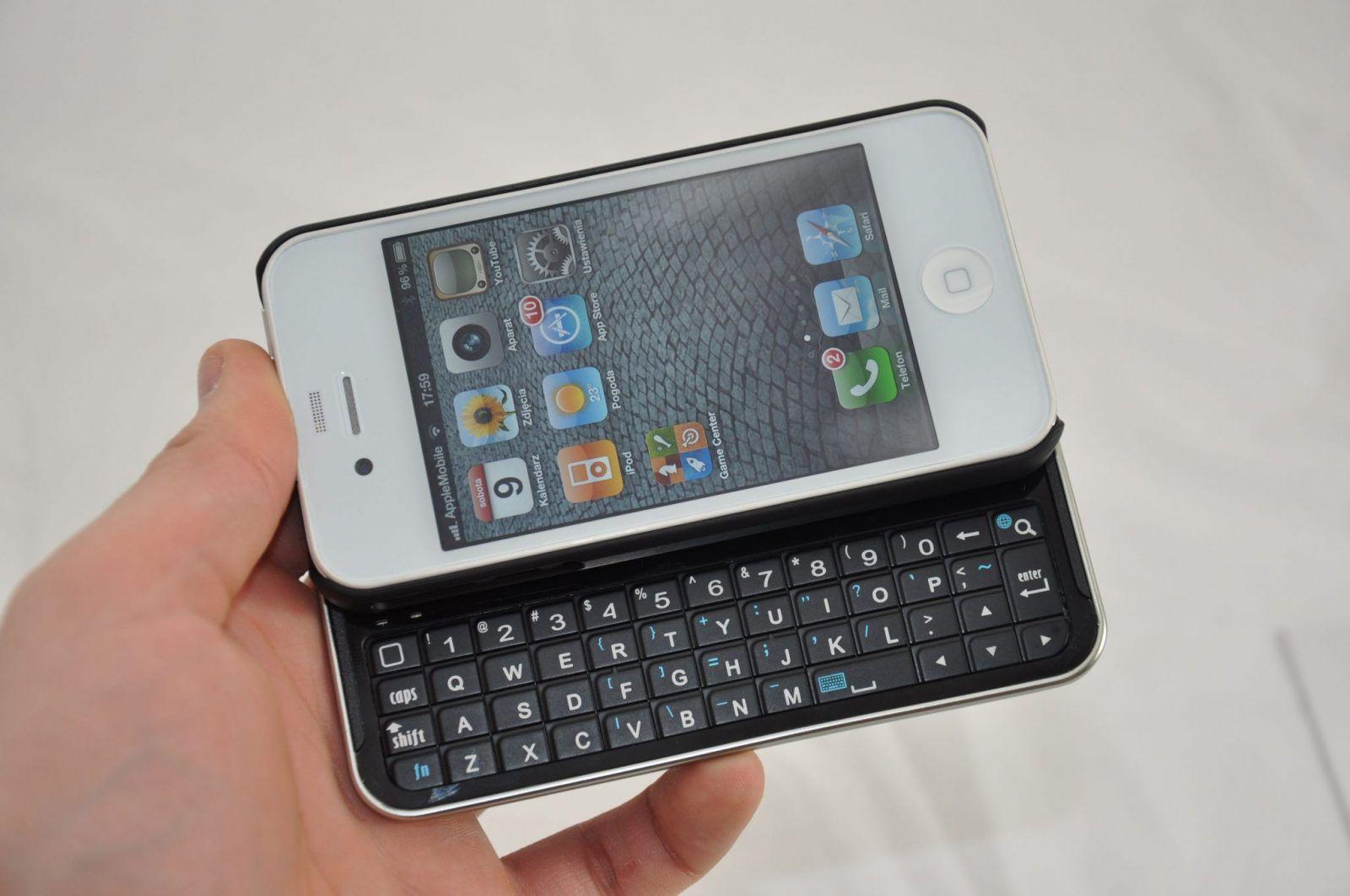 Recenzja: Ctech Wireless Slide Keyboard Case – praktyczne etui do iPhone 4 z klawiaturą QWERTY
