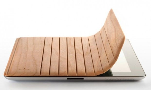 Drewniana osłona dla iPad2!