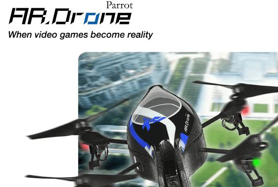 Recenzja: AR.DRONE – quadrokopter sterowany iPhonem