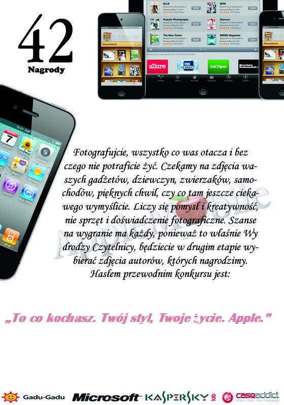 KONKURS fotograficzny na AppleMobile.pl! 42 nagrody do zgarnięcia!