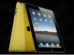 Złoty iPad 2