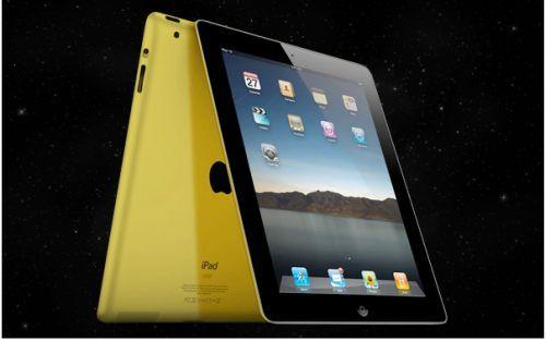 24 karatowy złoty iPad 2 od GO Luxury