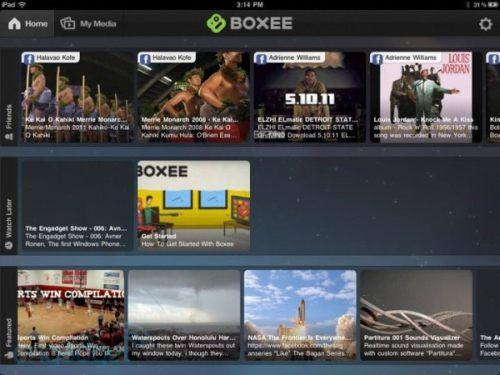Nowa wersja Boxee dla iPada