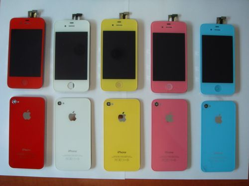 Kolorowy iPhone 4 – wymiana szyb i wyświetlacza w iPhone 4
