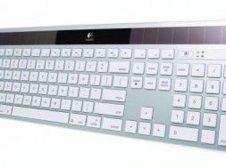 Logtech Wireless Solar Keyboard 20K750 for Mac