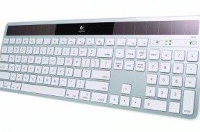 Logtech Wireless Solar Keyboard 20K750 for Mac