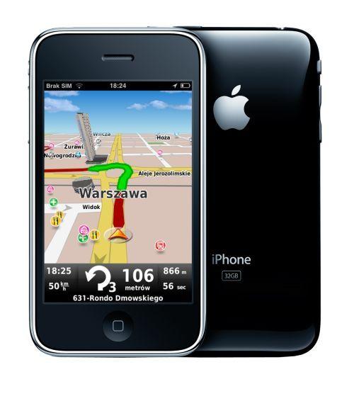 Nawigacja dla iPhone tanieje 3 krotnie