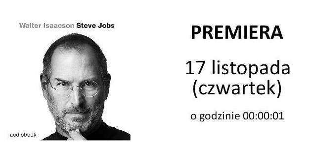 Konkurs: 2 książki Steve Jobs w wersji audio do wygrania