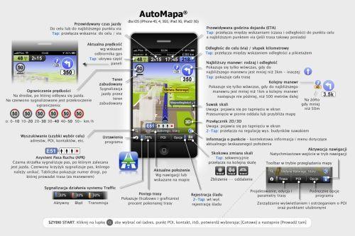 AutoMapa iOS 3.0 dostępna w AppStore