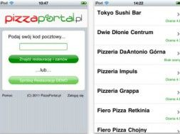 Pizzaportal.pl na iPhone