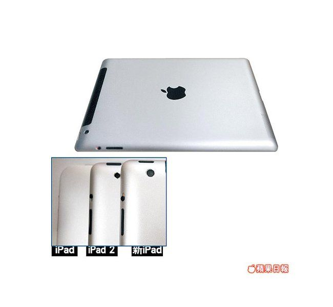 iPad 3 z aparatem 8MP?