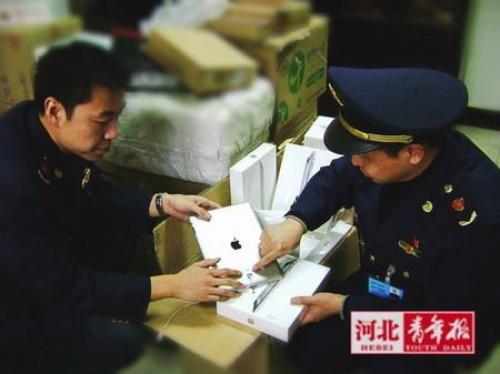 Konfiskata iPadów na terenie Chin ? efekt utraty praw do nazwy przez Apple
