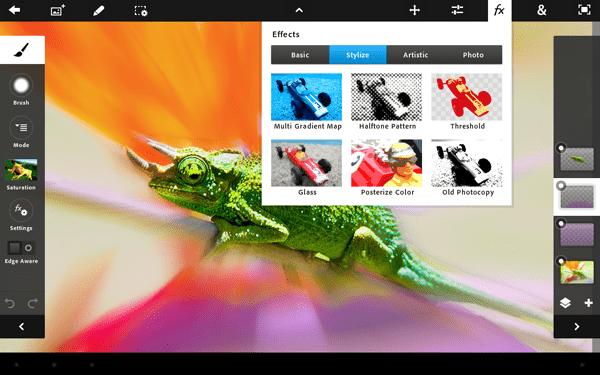 Photoshop Touch dla iPadów ma pojawić się w App Store za 9,99$!