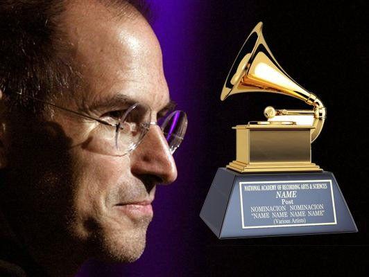 Pośmiertna nagroda Grammy dla Steva Jobsa