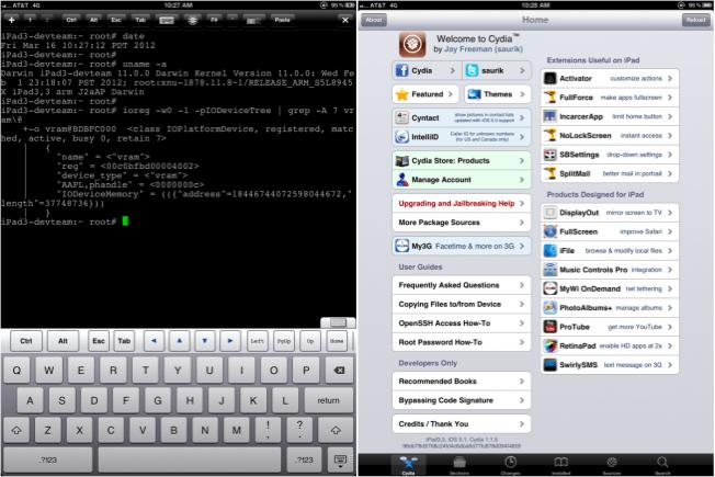 Nowy iPad już po jailbreak?u!