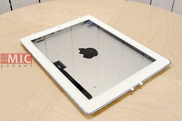 iPad 3 ?sklejony? z części, o których mowa w spekulacjach