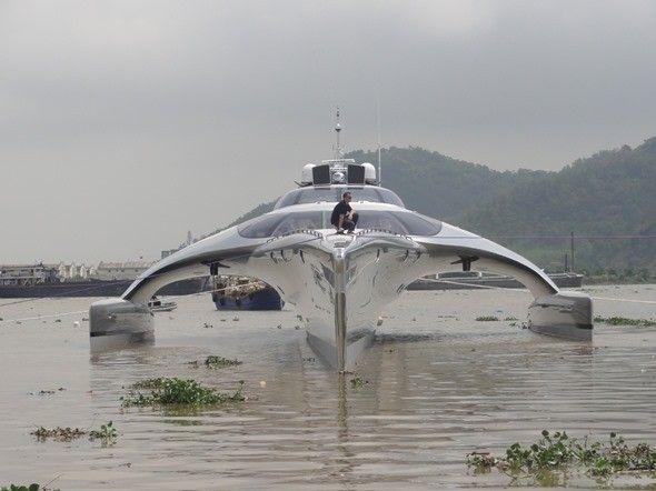 Jacht za 15 mln dolarów sterowany za pomocą iPada