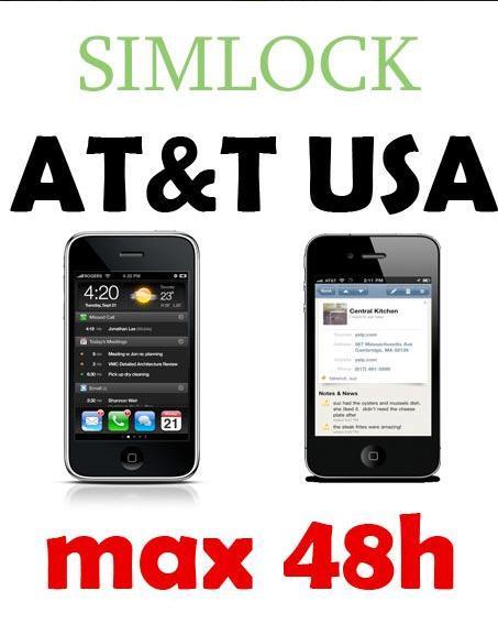 Serwis iPhone AppleMobile.pl: SIMLOCK AT&T iPhone 4, 3GS i 3G już możliwy w 24h robocze!