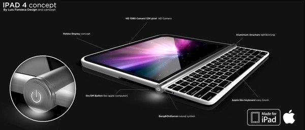 iPad 4 z wysuwaną klawiaturą?