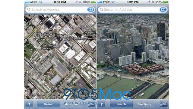Apple zrezygnuje z Google Maps w iOS 6.0 ? chce wprowadzić własne oprogramowanie? [wideo]