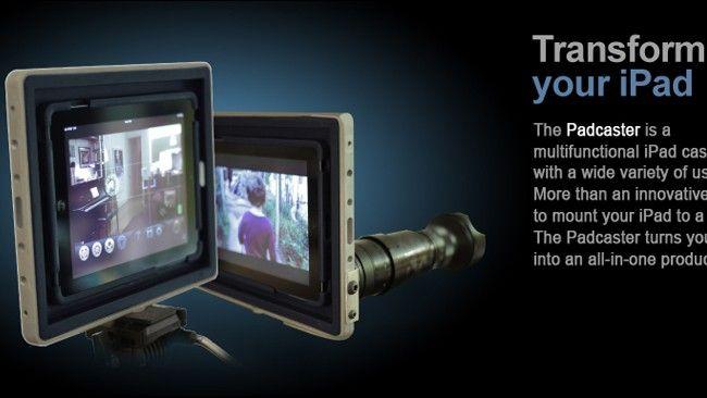 Padcaster ? specjalna obudowa, która zmieni Twojego iPada w studio produkcyjne!