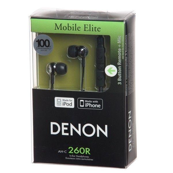 Denon AH-C260R. Funkcjonalne i świetnie wyglądające słuchawki