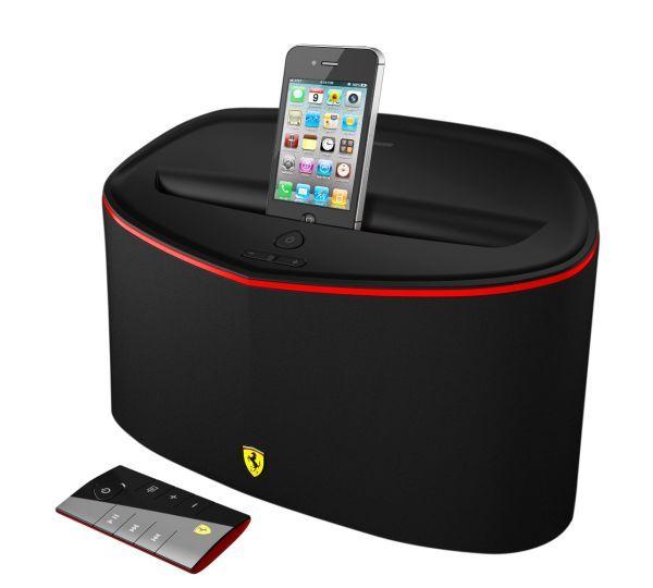 Stacje dokujące by Ferrari dla produktów Apple