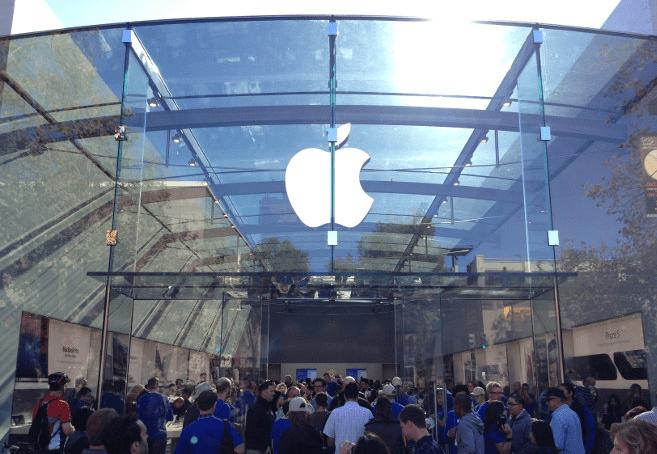 Pierwsze spojrzenie na nowy sklep Apple w Palo Alto