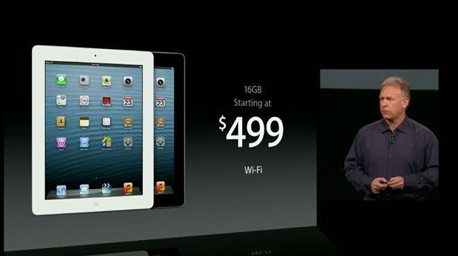 iPad 4 z chipsetem A6X i kamerą FaceTime HD