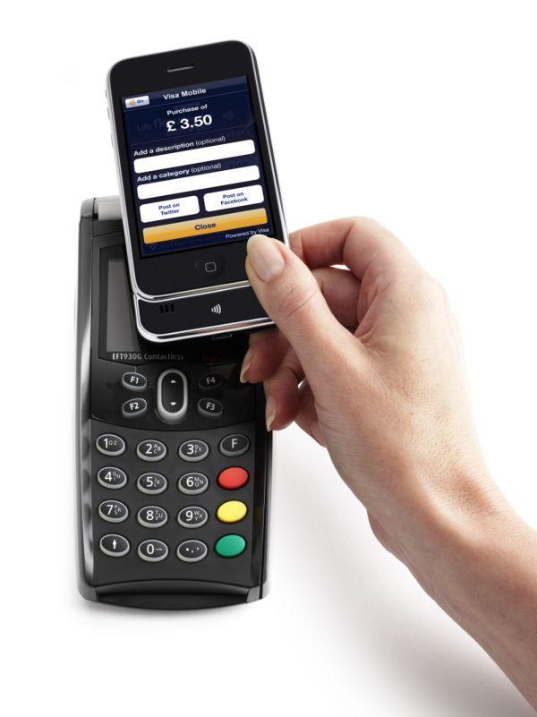 iphone terminal płatność zbliżeniowa