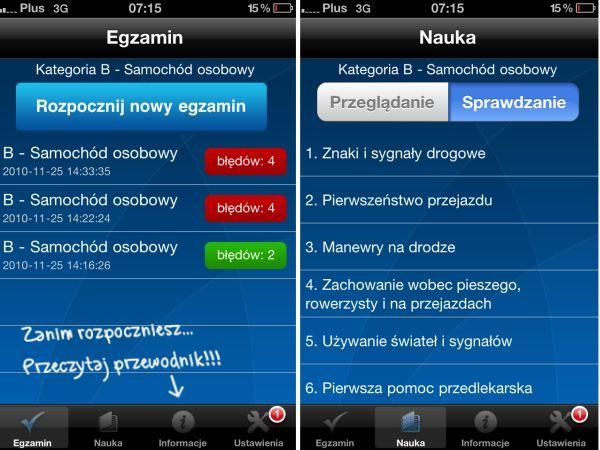 Recenzja Prawo Jazdy dla iOS. Nauka na prawko w smartfonie
