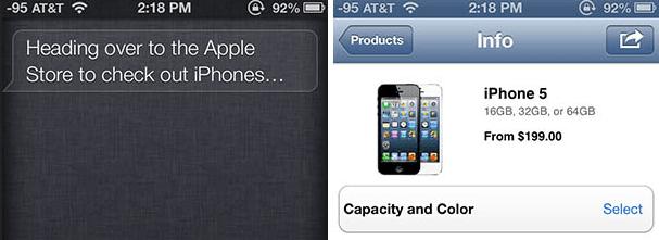 Aktualizacja aplikacji Apple Store wprowadza wsparcie dla Siri oraz Passbook
