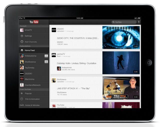 Aplikacja YouTube iOS dostępna na iPada… nareszcie!