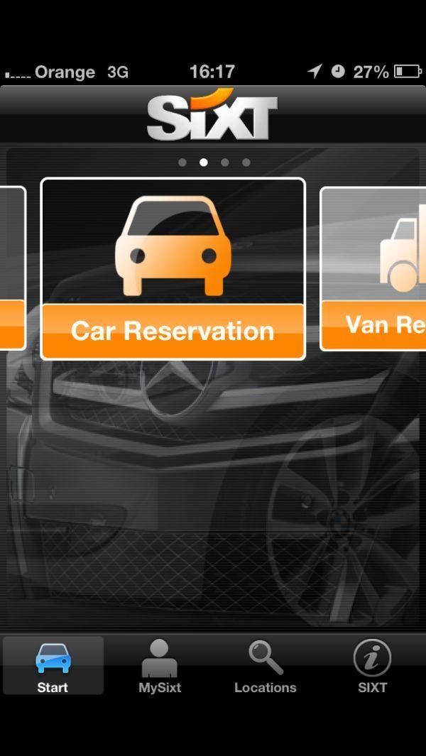 Wypożyczenie samochodu Sixt za pomocą Apple Passbook