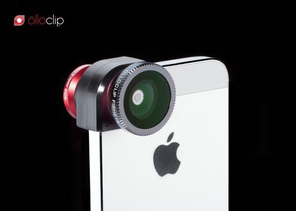 Obiektywy Olloclip do iPhone 5