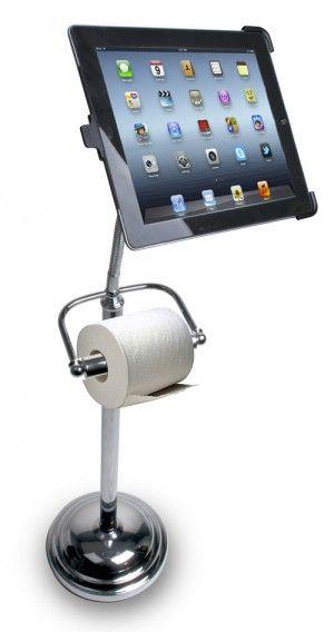 Stojak na iPada poprawi zastosowanie urządzenia… w ubikacji?