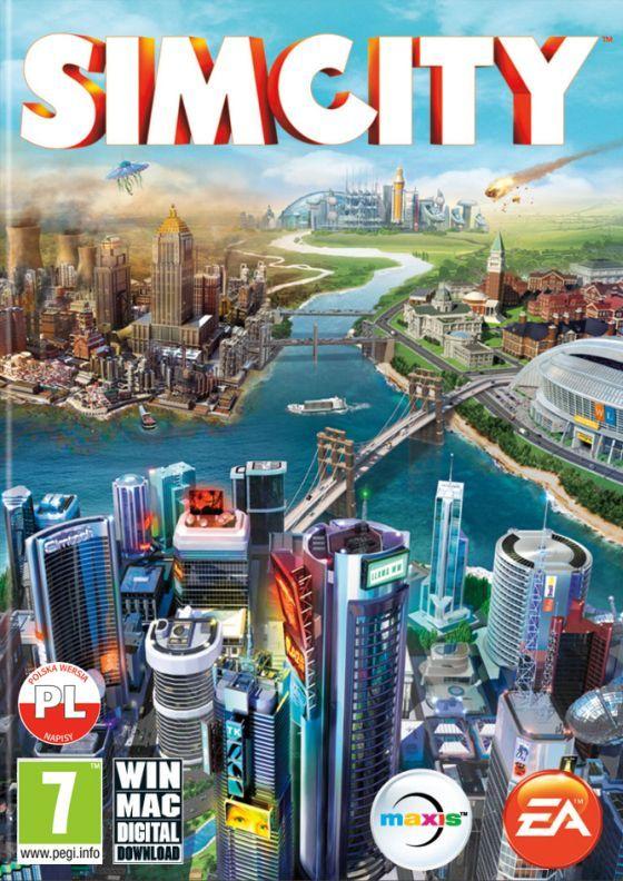 Okładka SimCity MAC